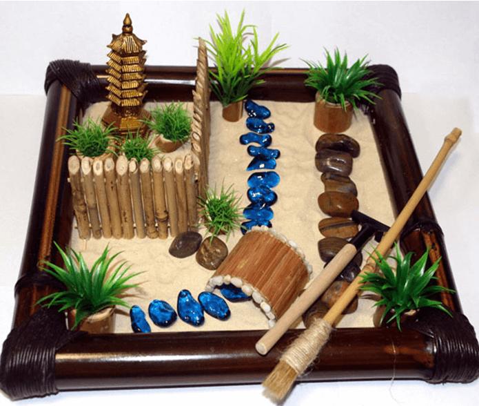 • Японский песочный сад