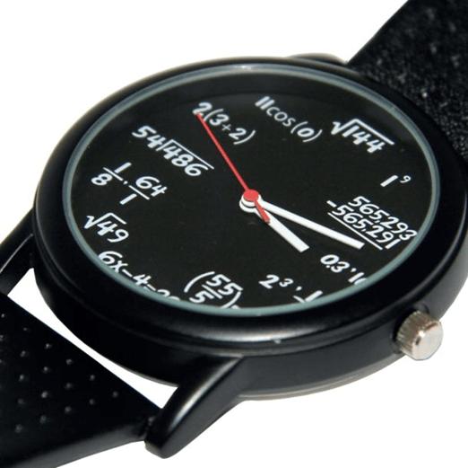 Часы для математика