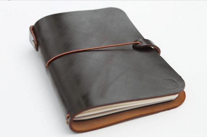 Кожаный ежедневник своими руками