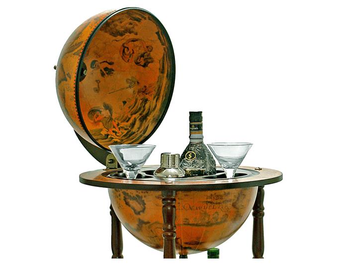 Глобус – винный бар для кабинета
