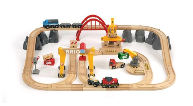деревяная железная дорога