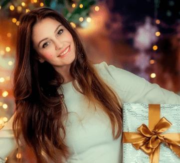 подарки для девушке на Новый год