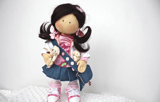 оригинальная кукла