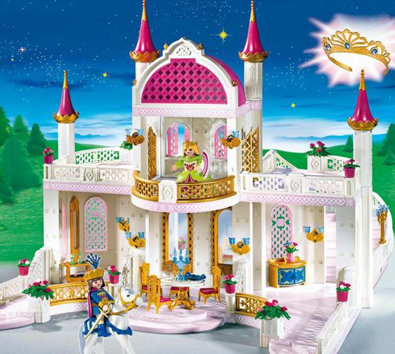 Замки для принцесс