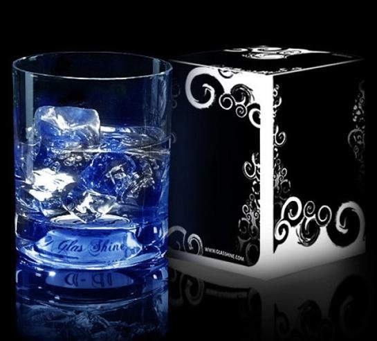 стакан со светодиодной подсветкой