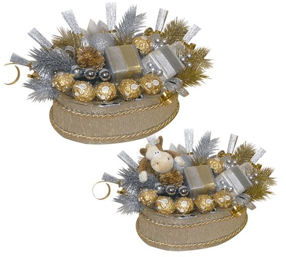 конфеты в новогодней упаковке