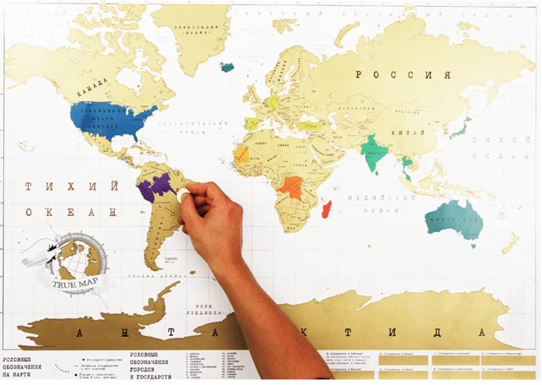 скретч-карту
