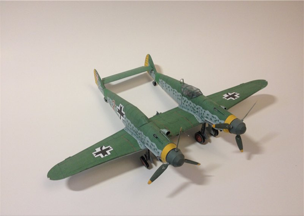Военный самолётик