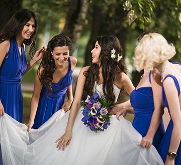 подруге на свадьбу