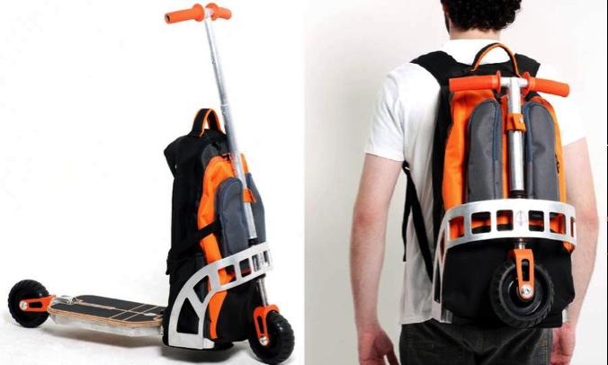 рюкзак-самокат