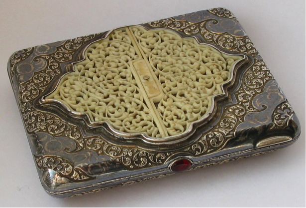 портсигар 19 века