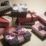 Подарочная коробка собранная и оформленная своими руками